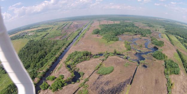 Обсыхание поймы реки Дубна близ с. Сущёво. Фото А.В.Макарова