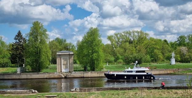 Канал им. Москвы, пристань Ударная (84 км). Май 2021 г. Фото О.С.Гринченко
